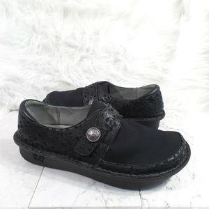 Alegria Black Leather Neoprene DENA EU 41 10.5-11